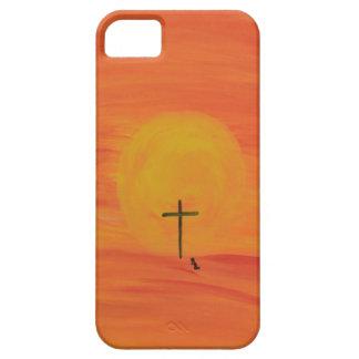 Encuéntreme en la cruz funda para iPhone SE/5/5s
