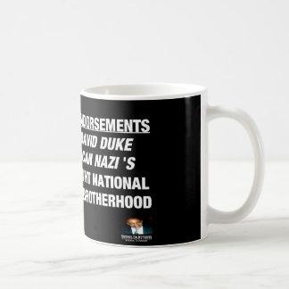 Endosos de Donald Trump Taza De Café