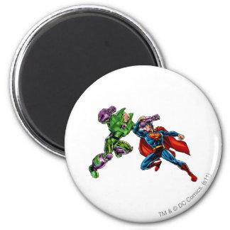 Enemigo 2 del superhombre imán redondo 5 cm