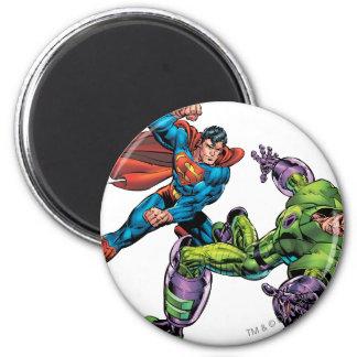 Enemigo 3 del superhombre imán redondo 5 cm