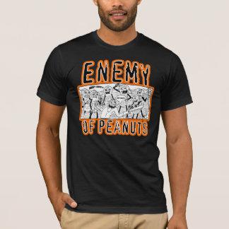 Enemigo de la camiseta del panel de los cacahuetes