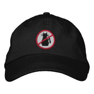 Enemigos del gato del gorra bordado mundo gorras bordadas