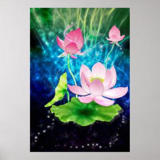 Energía de Lotus Póster