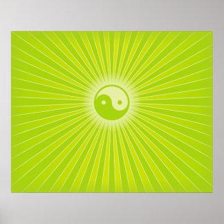 Energía de Yin Yang Impresiones