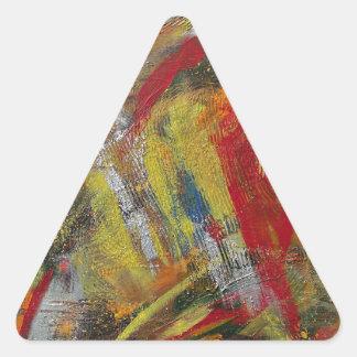 Energía II Pegatina Triangular