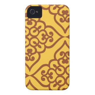 Enérgico optimista alegre cariñoso iPhone 4 Case-Mate cobertura