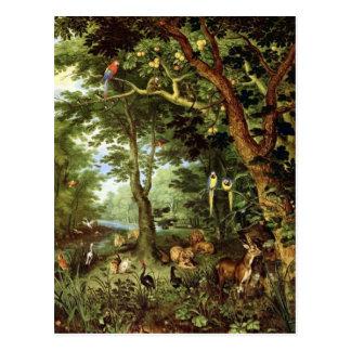 Enero Bruegel la anciano - paraíso Postal