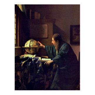 Enero Vermeer, la postal del astrónomo