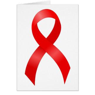 Enfermedad cardíaca del SIDA y del VIH el | y Tarjeta De Felicitación