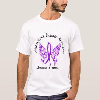 Enfermedad de Alzheimer de la mariposa 6,1 del Camiseta