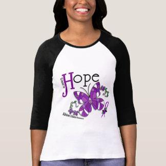Enfermedad de Alzheimer de la mariposa del vitral Camiseta