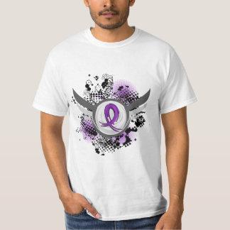 Enfermedad de Alzheimer púrpura de la cinta y de Camiseta