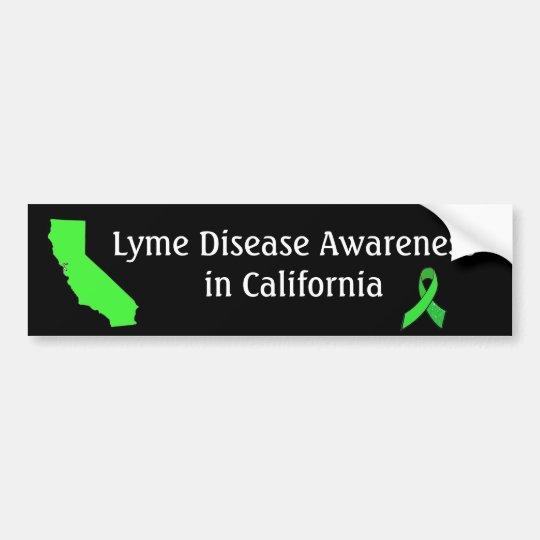 Enfermedad de Lyme en la pegatina para el