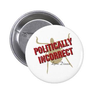 Enfermedad de Lyme - político incorrecta Pin