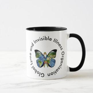 Enfermedad de Lyme y taza de café invisible de la