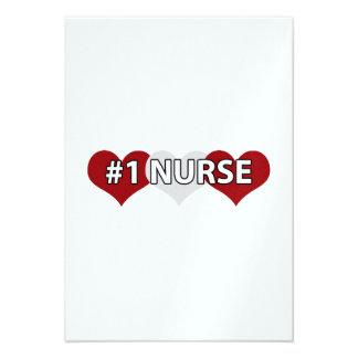 Enfermera #1 comunicados personalizados