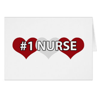 Enfermera #1 felicitaciones