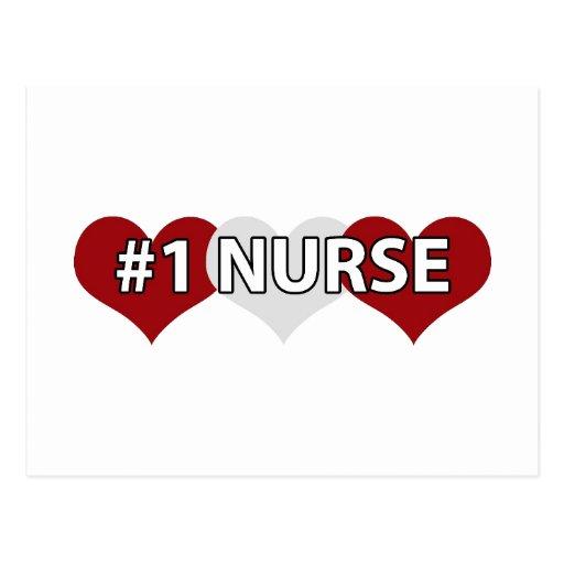 Enfermera #1 postal