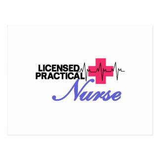 Enfermera autorizada postal