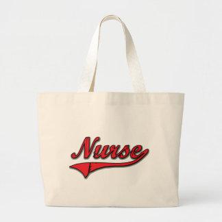 Enfermera Bolsa Tela Grande