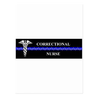 Enfermera correccional postal