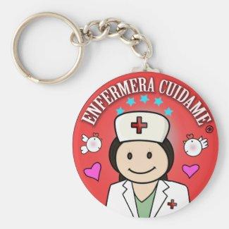 Enfermera Cuidame Rojo y Morena