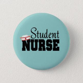 Enfermera de estudiante chapa redonda de 5 cm