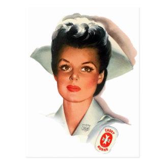 Enfermera de estudiante del oficio de enfermera postal