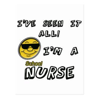 Enfermera de la escuela postal