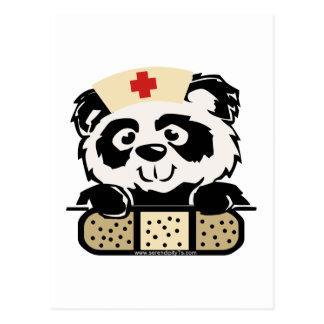 Enfermera de la panda postal