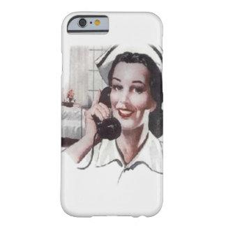 Enfermera de la sala de hospital del vintage en el funda de iPhone 6 barely there