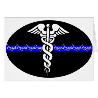 Enfermera de las correcciones tarjeta de felicitación