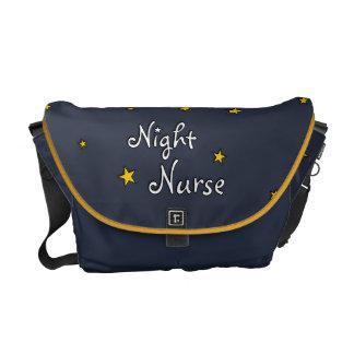 Enfermera de noche bolsas de mensajeria