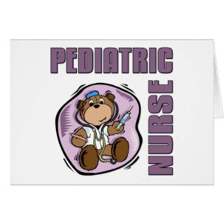 Enfermera de Peds Felicitaciones