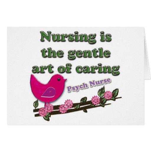 Enfermera de Psych Felicitaciones