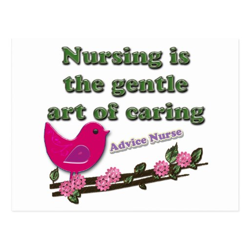 Enfermera del consejo tarjetas postales