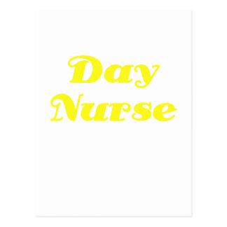 Enfermera del día postal