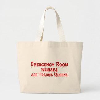 Enfermera del ER Bolsa Tela Grande