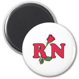 Enfermera del RN subió Imán Redondo 5 Cm