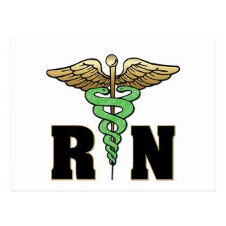 Enfermera del RN Tarjeta Postal