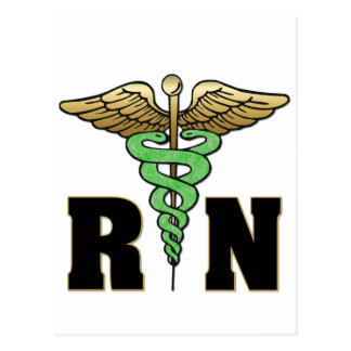 Enfermera del RN Tarjetas Postales