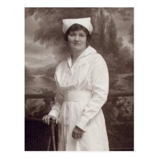 Enfermera del vintage tarjetas postales
