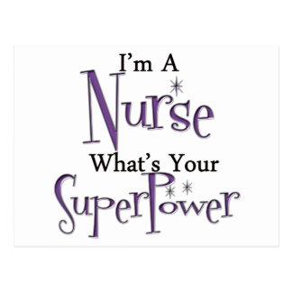 Enfermera estupenda postales