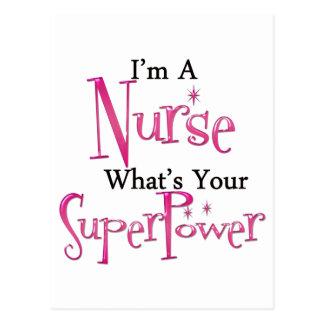Enfermera estupenda postal