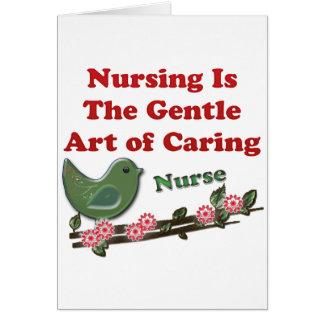 Enfermera Felicitacion