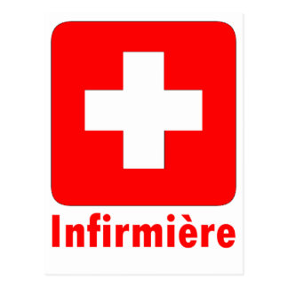 Enfermera-Francés Postal