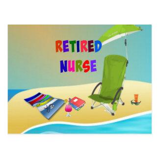 Enfermera jubilada, diversión en el Sun Postal