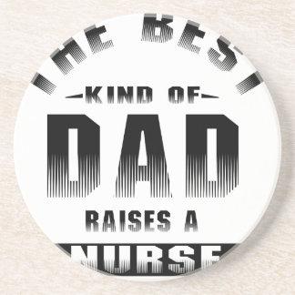Enfermera, la mejor clase de papá posavasos