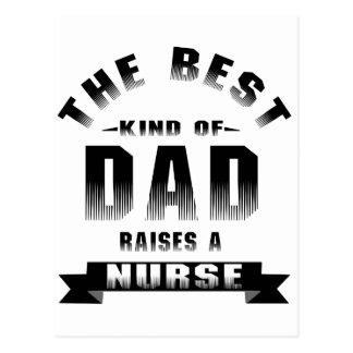 Enfermera, la mejor clase de papá postal