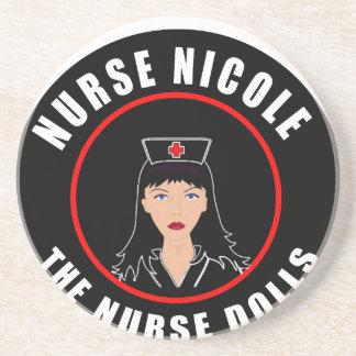 Enfermera Nicole Posavasos De Arenisca